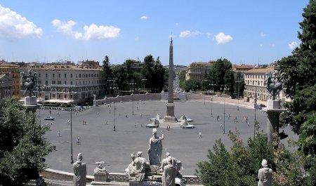 Piazza del Popolo, Рим