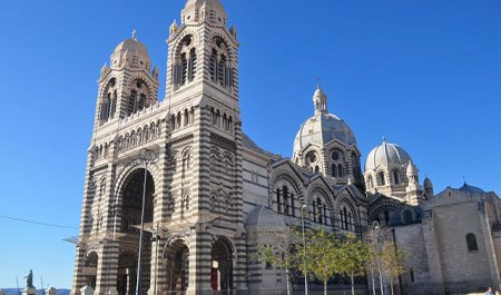 Catedral  Sainte-Marie-Majeure, Marselha