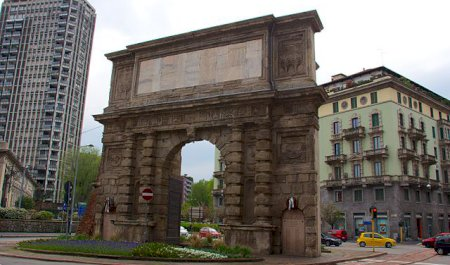 Porta Romana, Milan